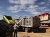SINFIN PLEGABLE HIDRAULICO para remolque agricola