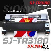 OFERTA LIMITADA plotter de sublimacion StormJet SJ TR3180 banderolas