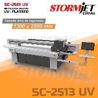 Mesa de impresión para rígidos con tintas UV madera cristal pvc foam