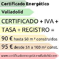 CERTIFICADO ENERGETICO EN VALLADOLID