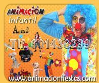 animación infantil para cumpleaños bodas fiestas en Madrid
