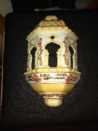 Farol de cerámica