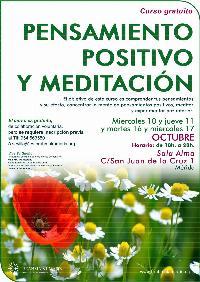 Curso Gratuito Pensamiento Positivo y Meditación en Mérida