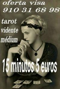 15 minutos 5 euros tarot real profesional