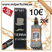 Perfume Hombre Nº 181 Tierra D`Hermos Equivalente Alta Gama
