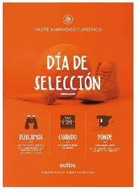 PROCESO DE SELECCION ANIMADORES TURISTICOS EN JEREZ