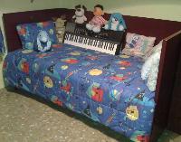 cama de madera 1,90 x 0,90