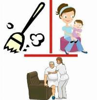 Cuidora y servicio doméstico