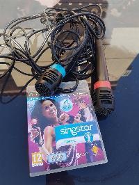 Singstar ps3 con micrófonos