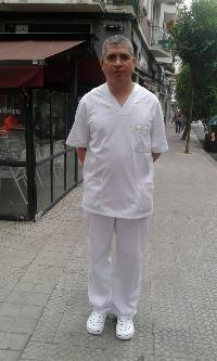 Profesional cuidado mayores