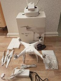 DJI Phantom 4 Pro+ Quadcopter, 4K Camera, 3-Axis Gimbal - Remote with