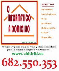 REPARACION DE ORDENADORES  682.550.353 y 923.616.880