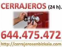 Cerrajeros en Bizkaia 644 475 472