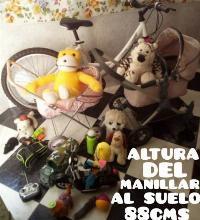 """bicicleta de 24"""" y regalo lote de juguetes"""