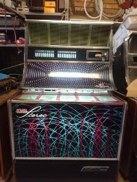 Maquina tocadiscos SINFONOLA 2000D – INDER-GEDASA clásica de 1976