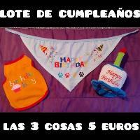 disfraces y ropa para mascota a 2...5 y 8 euros
