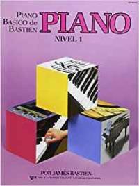 PIANO BÁSICO DE BASTIEN NIVEL 1