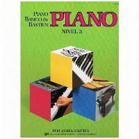 LIBRO PIANO BÁSICO DE BASTIEN NIVEL 3