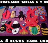 ropa y disfraces para mascotas desde 2 a 10 euros
