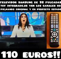 televisor samsung HD de 32 pulgadas