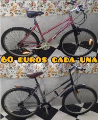 2 bicicletas para adulto de 26 pulgadas