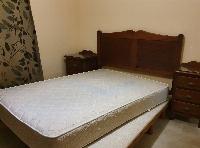 Cama matrimonio y dos camas individuales
