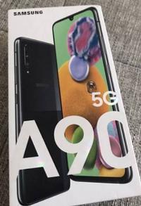Samsung A90 5G nuevo en su caja sin abrir.