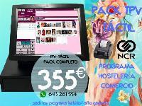 TPV TÁCTIL COMPACTO OCASIÓN + PROGRAMA PELUQUERÍAS Y CENTROS ESTÉTICA