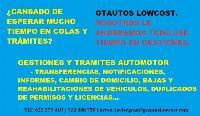gestiones y trámites automotor - trafico (dgt)