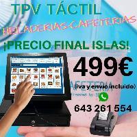 TPV TÁCTIL COMPACTO OCASIÓN + PROGRAMA PRECIO ESPECIAL ISLAS