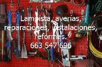 Lampista, averías, reparaciones, instalaciones, reformas.