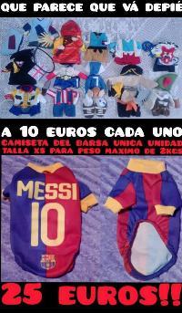 ropa y disfraces para mascotas desde 2 euros