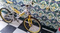 Bicicleta de doble suspensión