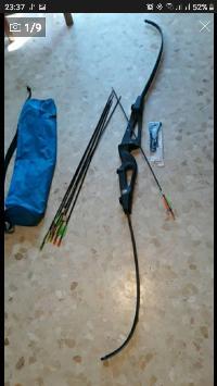 arco y varias flechas