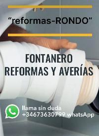 FONTANERO REFORMAS Y AVERÍAS