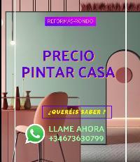 PRESIO PINTAR CASA