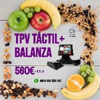 Tpv + Balanza para todo tipo de comercios