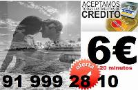 Tarot Visa 8 € los 30 Min/ animate a la verdad ya