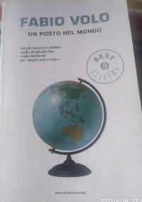 Libro de Fabio Volo ( Un Posto nel mondo)