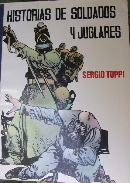 Comic de Sergio Toppi  10 de diferentes editores.