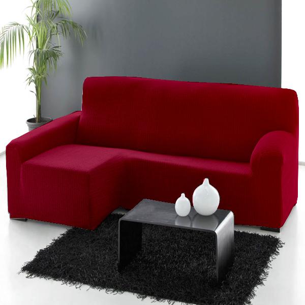 Fundas sofás chaise longue elásticas, tamaño 240 a