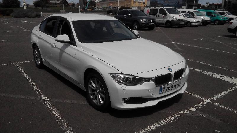 BMW Serie 3, modelo 318d. Motor 2. 0, 143 CV, diesel.