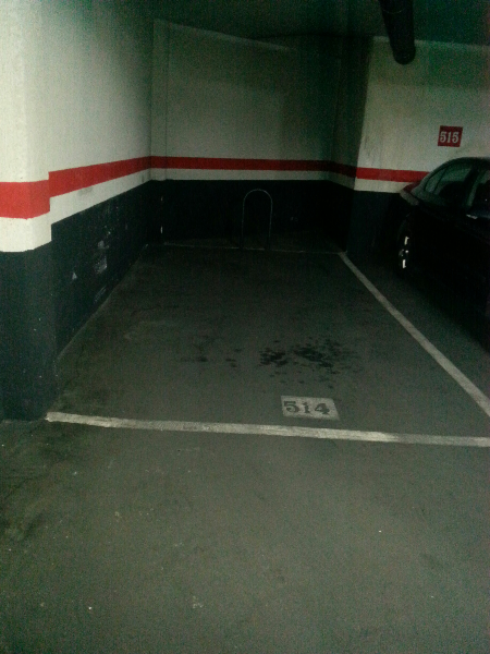 Venta de plaza de garaje en C/ De los Morales 10.