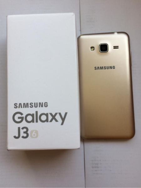 Vendo teléfono samsung galaxy J3 2016 dorado en buenas