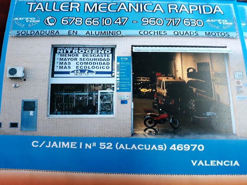 TALLER AUTOVIES MECANICA EN  GENERAL se hacen trabajos