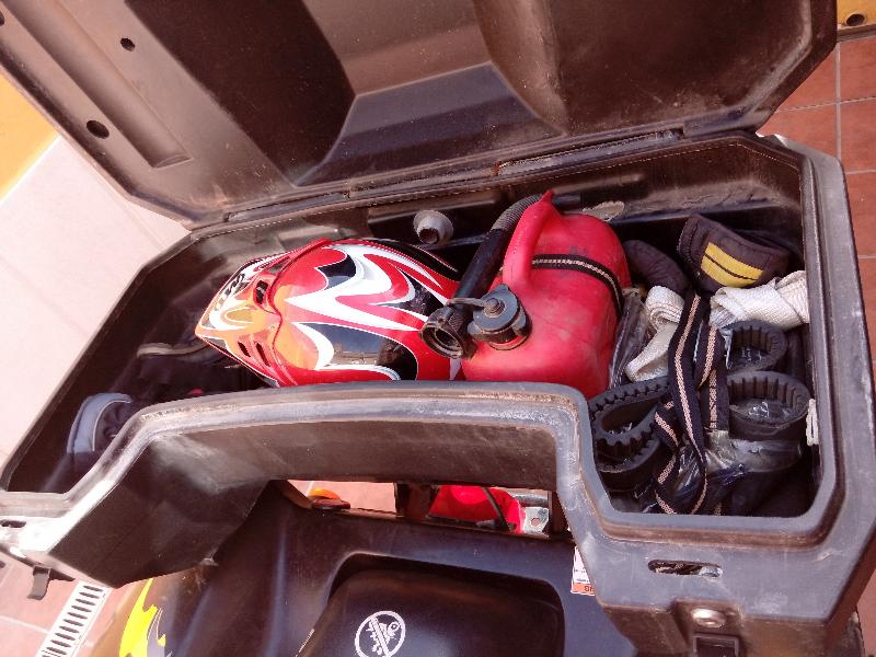 Atv 4x4 500cc con accesorios maleta, toma de mechero,   - Foto 5