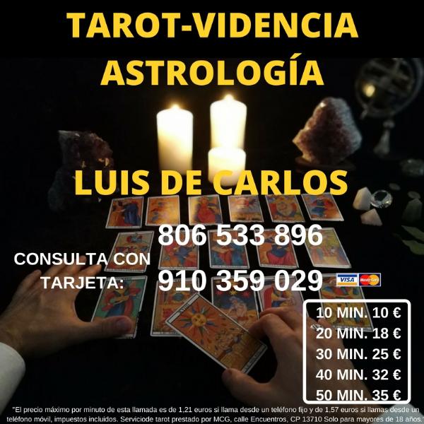 Mi nombre es Luis de Carlos soy Astrologo, Tarotista,