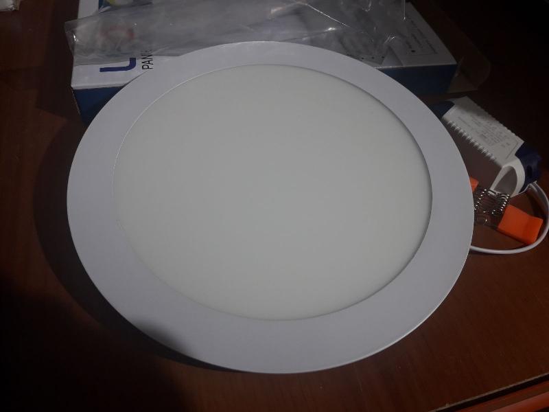 FOCO PANEL ILUMINACION LED 18W 205MM. de diametro.