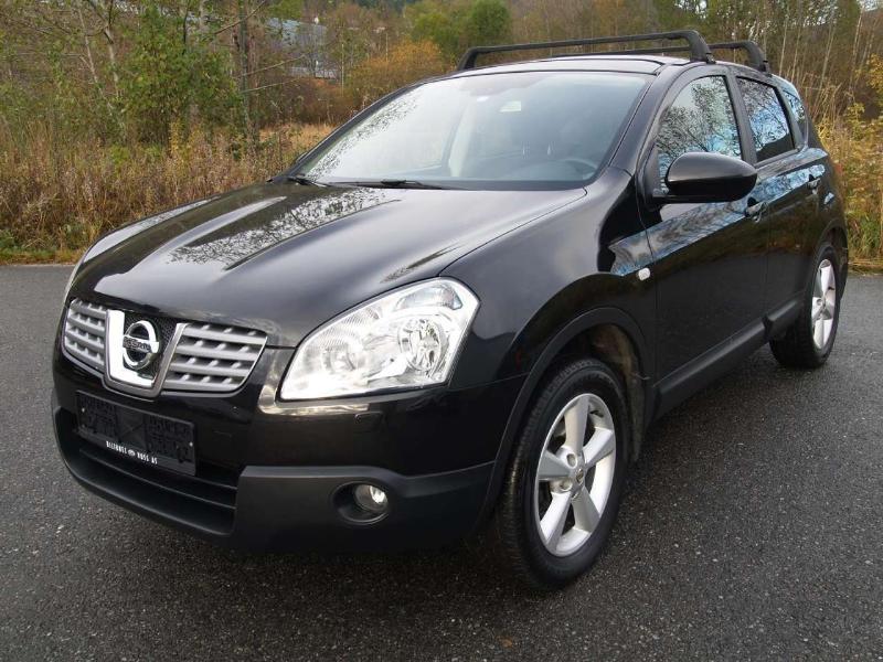 Nissan Qashqai 1,5 dCi Tekna 2009 de color negro concírculos