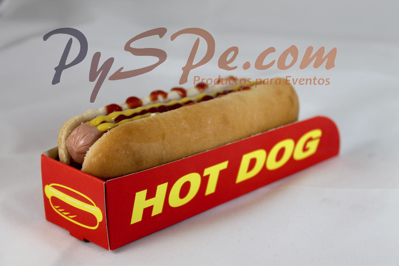 Barquetas hot dog - 500 Uds